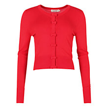 Buy Louche Ivy Cardigan, Red Online at johnlewis.com
