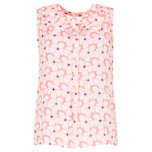 Buy Louche Inel Flower Top, White Online at johnlewis.com