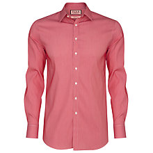 Buy Thomas Pink Lydiard Check Long Sleeve Shirt, Red/White Online at johnlewis.com