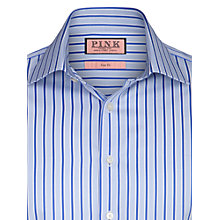 Buy Thomas Pink Balfour Stripe Long Sleeve Shirt, Blue Online at johnlewis.com