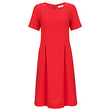 Buy COLLECTION by John Lewis Pleat Front Dress, Autumn Orange Online at johnlewis.com