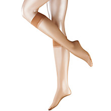 Buy Falke Shelina 12 Denier Knee Highs, Powder Online at johnlewis.com