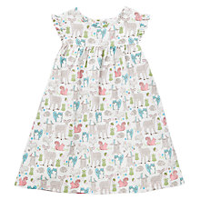 Buy John Lewis Woodland Print Cotton Dress, Multi Online at johnlewis.com