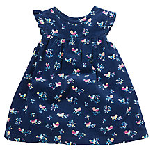 Buy John Lewis Birdy Cord Pinafore, Navy/Multi Online at johnlewis.com