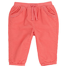 Buy John Lewis Corduroy Trousers, Pink Online at johnlewis.com