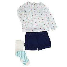 Buy John Lewis Top & Shorts Outfit Set, Multi Online at johnlewis.com