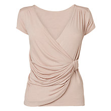 Buy Phase Eight Montpellier Walda Wrap Top, Pink Online at johnlewis.com