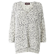 Buy Phase Eight Montpellier Frankie Fleck Jumper, Grey Marl Online at johnlewis.com