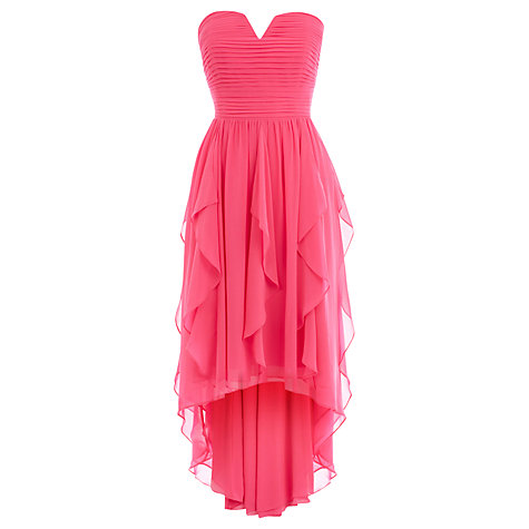 Buy Coast Yessica Dress, Hot Pink Online at johnlewis.com