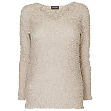 Buy Phase Eight Montpellier Tilly Texture Jumper, Almond Online at johnlewis.com