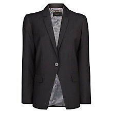 Buy Mango Essential Blazer, Black Online at johnlewis.com