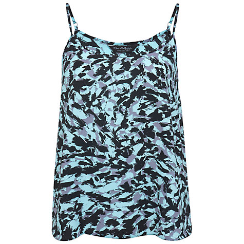 Buy Miss Selfridge Scratchy Print Cami Top Online at johnlewis.com