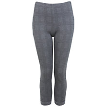 Buy Miss Selfridge Check Treggings, Grey Online at johnlewis.com