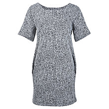 Buy Miss Selfridge Cocoon Dress, Black Online at johnlewis.com