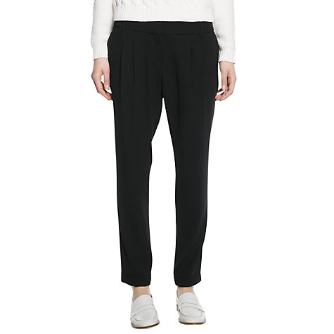 Buy Mango Pleated Baggy Trousers Online at johnlewis.com