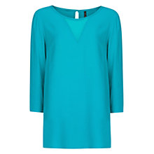 Buy Mango Chiffon Panel Blouse Online at johnlewis.com