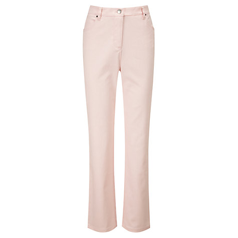 Buy Viyella Regular Jeans, Shell Pink Online at johnlewis.com