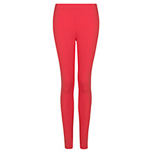Buy Mango Essential Leggings, Medium Red Online at johnlewis.com