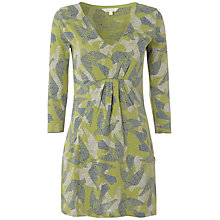 Buy White Stuff Bramble Bird Print Kaftan, Avocado Online at johnlewis.com