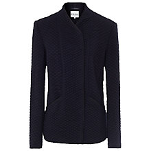 Buy Reiss Virgo Textured Jacket, Blue Online at johnlewis.com