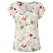 Buy White Stuff Bramble Garden Grow Top Online at johnlewis.com