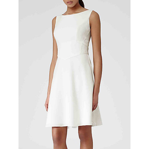 Buy Reiss Pleated Back Jade Dress Online at johnlewis.com