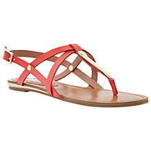 Buy Steve Madden Henna Sandals, Coral Online at johnlewis.com