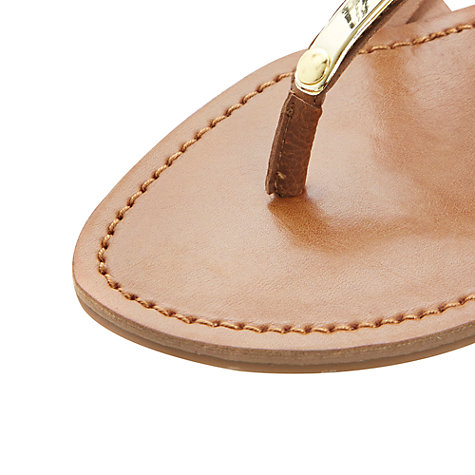 Buy Steve Madden Henna Metal Panel Sandals Online at johnlewis.com
