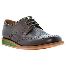 Buy Bertie Brock Woven Leather Brogues Online at johnlewis.com