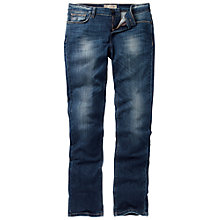 Buy Fat Face Denim Straight Leg Jean, Denim Online at johnlewis.com
