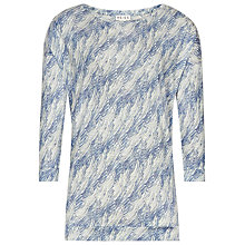 Buy Reiss Oversized Printed Vita Top, Multi Online at johnlewis.com