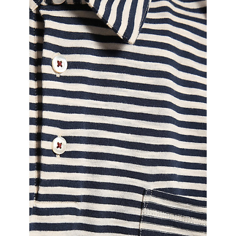 Buy Jigsaw Striped Polo Shirt Online at johnlewis.com