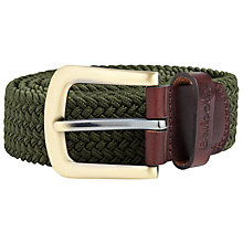 Buy Barbour Webbing Stretch Belt Online at johnlewis.com