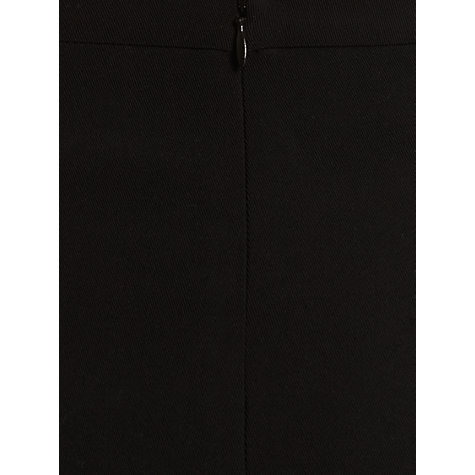 Buy Jigsaw Fine Wool Split Skirt, Black Online at johnlewis.com