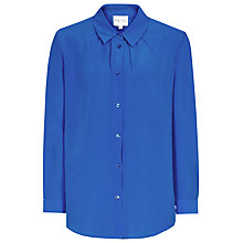 Buy Reiss Pleat Neck Springsteen Shirt Online at johnlewis.com
