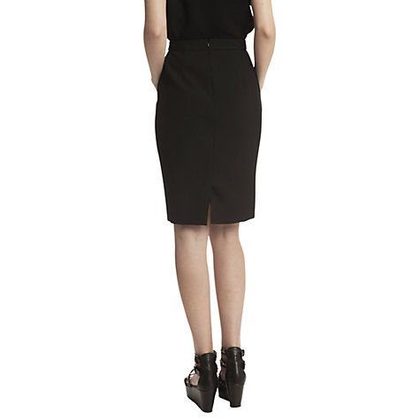 Buy Gérard Darel Straight Skirt, Black Online at johnlewis.com