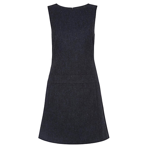 Buy Hobbs Edie Dress, Navy Online at johnlewis.com