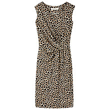 Buy Gérard Darel Silk Printed Dress, Taupe Print Online at johnlewis.com