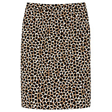 Buy Gérard Darel Print Straight Skirt, Taupe Print Online at johnlewis.com