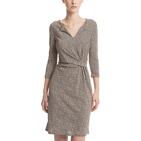 Buy Gérard Darel Conny Printed Dress, Taupe Print Online at johnlewis.com