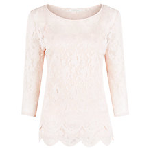Buy Kaliko Lace Stretch Top Online at johnlewis.com