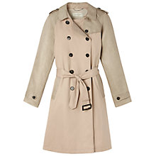 Buy Gérard Darel Bimatière Trench Coat, Beige Online at johnlewis.com