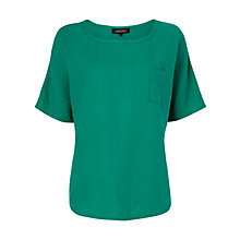 Buy Jaeger Oversized Linen T-Shirt Online at johnlewis.com