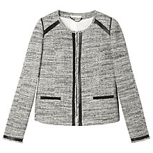 Buy Gérard Darel Tweed Jacket, Black Online at johnlewis.com