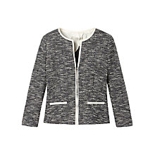 Buy Gérard Darel Tweed Jacket, Navy Blue Online at johnlewis.com