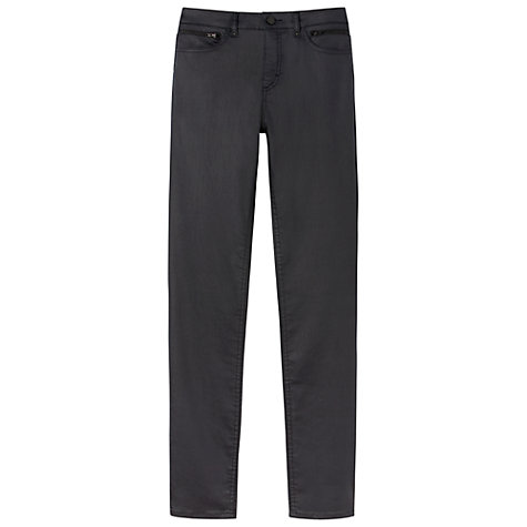 Buy Gérard Darel Waxed Jeans, Navy Blue Online at johnlewis.com