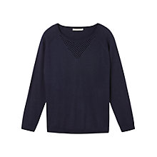 Buy Gérard Darel Sweater, Navy Blue Online at johnlewis.com