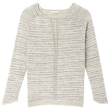 Buy Gérard Darel Lurex Jumper, Beige Online at johnlewis.com