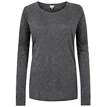 Buy NW3 by Hobbs May T-Shirt, Grey Marl Online at johnlewis.com