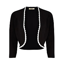 Buy Precis Petite Crochet Trim Detail Shrug Online at johnlewis.com
